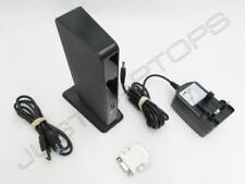 Dell Latitude E6540 USB 3.0 Port Replicator Dock w/ DVI-I Video Output Inc PSU