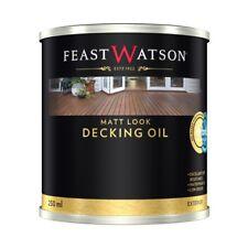 Feast Watson 250ml Matt Look Merbau Decking Oil