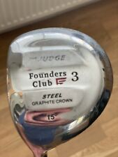Founders Club The Judge 3 Wood 15 Degree Left Hand Siff Flex