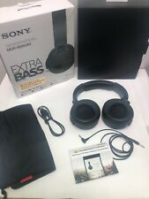Sony Wireless Noise Canceling Stereo Headset Black With Case MDR- XB950N1 *READ*