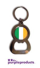 IRELAND FLAG BOTTLE OPENER KEYRING SIX NATIONS 2016