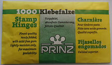 More details for prinz 1000 stamp hinges - choose number of packs from drop down menu.