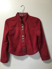 County Clothing Co Women's size M red western equestrian jacket