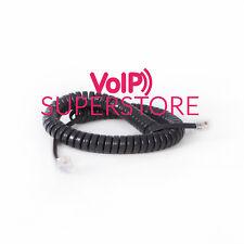Telephone Handset Curly Cord Cable for Polycom VVX410 VVX400 411 VVX300 VVX500