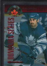 MATHIEU SCHNEIDER 1997/98 DONRUSS CANADIAN ICE #116 DOMINION LEAFS SP #128/150