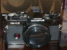 OLYMPUS OM-4T BLACK CAMERA BODY NEW IN BOX