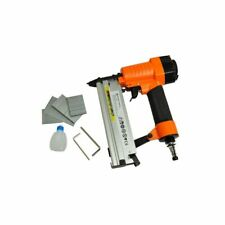 vidaXL Grapadora Neumática 2 en 1 de 8 Bar Naranja Pistola de Clavos de Aire