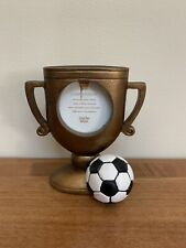 "BRAND NEW Sports Soccer Trophy Ball ~2.5"" X 2.5"" Picture Frame"