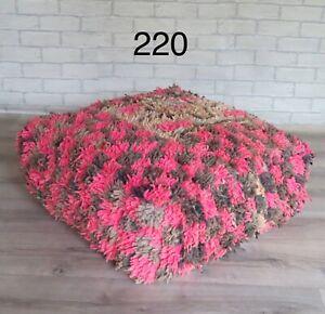 Vintage Moroccan Boujaad Floor Cushion 220