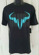 "NIKE Men`s Rafa Tennis T Shirt ""Vamos Blue Bull logo ""850860-010"