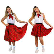 I Love Fancy Dress ILFD4518OS Ladies Costumes With Long Polka Dot Skirt