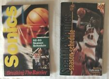 SHAWN KEMP Pocket Schedules - SEATTLE SUPER SONICS YOU PICK!!