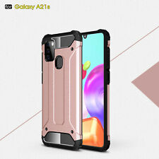 Case For Samsung Galaxy A21s Shockproof Armor Silicone Bumper Hard Back Cover
