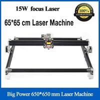 15000mW Laser Graviermaschine 15W Gravurmaschine CNC Engraving Drucker Cutter