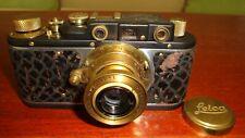 Russian Leica Copy D.R.P. ERNST LEITZ WETZLAR WW2 Vintage 35MM Camera SN20166