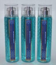 Lot Of 3 Bath & Body Works Coconut Sugarcane Fine Fragrance Mist Spray Large 8Oz