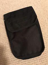"Ex Police Black Document Pouch For 2"" Kit Belt. 431."