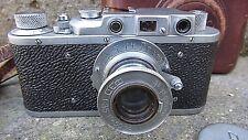 FOTOCAMERA SOVIETICA FED-1C  ANNO 1938  A TELEMETRO ATTACO OTTICA 39X1 A VITE