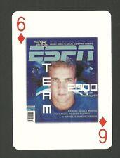 New listing Peyton Manning Football Scarce ESPN Employees Playing Card