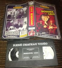 JOHNNY HALLYDAY RARE CASSETTE VIDEO VHS DOSSIER 1413