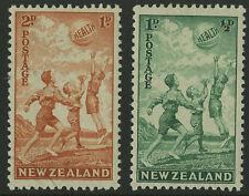 New Zealand   1940  Scott # B16-B17    Mint Lightly Hinged Set