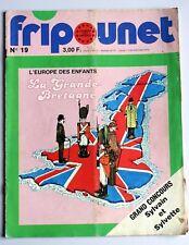 Fripounet  Bourgeon la roulotte pub Barbie Chakir télé-aventures Boucan 1979