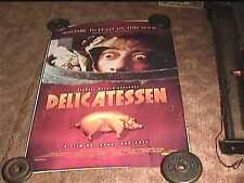 DELICATESSEN  1991  ROLLED SS 27X40 ORIG MOVIE POSTER CULT CLASSIC
