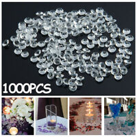 Ornament Clear Scatters Party Decoration Crystal Crafts Wedding Acrylic Diamond