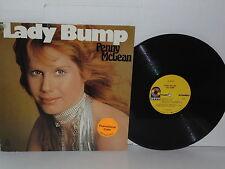 PENNY McLEAN Lady Bump LP Vinyl Silver Convention Silvester Levay Devil Eyes