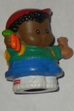 FISHER PRICE LITTLE PEOPLE MICHAEL WITH CARROTS & SEED FIGURE FREE SHIPPING!