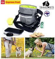 Dog Treat Bag Poo Bags Holder Dispenser Pouch Belt Puppy Pet Obedience Training