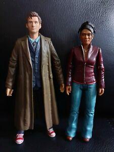 "Doctor Who Tenth 10th Dr + Martha Jones Job Lot Bundle 5.5"" Inch Action Figures"