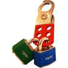 Squire L4 lock off safety hasp lock out hasp for valves & electrical switch gear