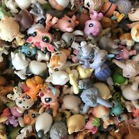 "1.2"" Littlest Pet Shop Mixed Lot 10 Pcs Random Authentic LPS Pet Figures Toy"