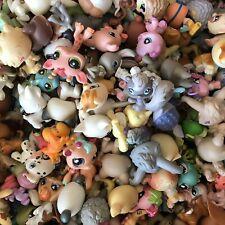 Littlest Pet Shop Mixed Lot 10 Pcs Random Authentic LPS Pet Figures Toy