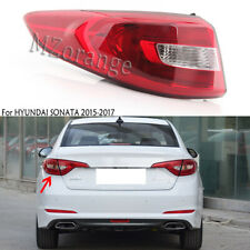 Left Side Outer Tail Light Rear Lamp Assembly for Hyundai Sonata 2015-17 Driver