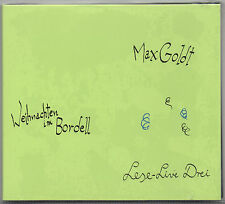 CD MAX GOLDT - Weihnachten im Bordell (Lese-Live Drei)  1995