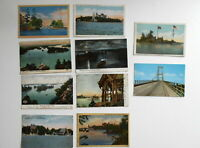 LOT OF 10 THOUSAND ISLANDS  NEW YORK NY  POSTCARDS