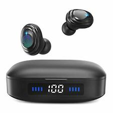 New listing Wireless Earbudswith Immersive SoundTrue 5.0Bluetooth in-Ear Black