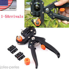US HOT Garden Fruit Tree Pro Pruning Shears Scissor Grafting Cutting Tools Suit