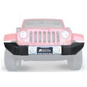 VDP 31555 Full High Clearance Black Moduler Bumper End Caps for Jeep Wrangler JK