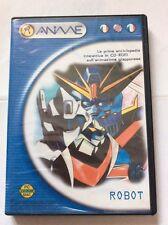 Robot Enciclopedia Interattiva Anime Giapponesi PC ITALIANO CD-ROM GOLDRAKE JEEG