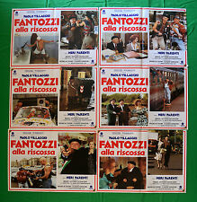 G68 LOTTO FOTOBUSTE FANTOZZI ALLA RISCOSSA PAOLO VILLLAGGIO FRACCHIA PARENTI