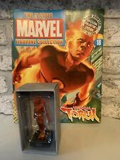 Marvel Classic Figurine Collection Human Torch #18. Eaglemoss