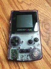 Nintendo Gameboy Color Atomic Purple Transparent Clear