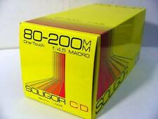 Konica Mount 80-200 Zoom Lens For Konica K/AR by Soligor New