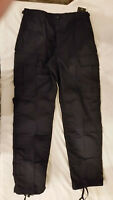 NWT'S TRU- SPEC MILITARY STYLE TRUE NAVY BLUE CARGO TROUSER PANTS SMALL REGULAR
