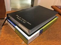 NIV Thinline Bible Black Leather (1984 New International Version) SMYTH SEWN