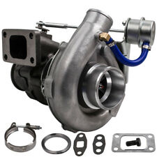 T3/T4 T04E upgraded Turbo Universal T3 Flange A/R.63 V-band Oil Turbocharger cac