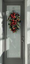 Christmas Door Swag decorations outdoor